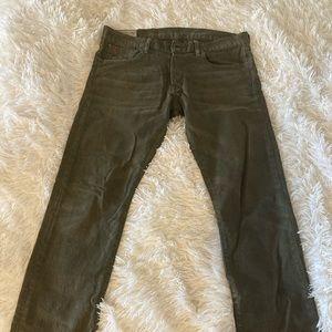 Men's Polo Ralph Lauren Forest Green Pants/Jeans